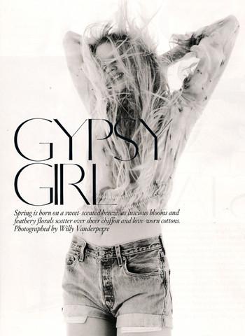 "British Vogue ""Gypsy Girl"". Изображение № 1."