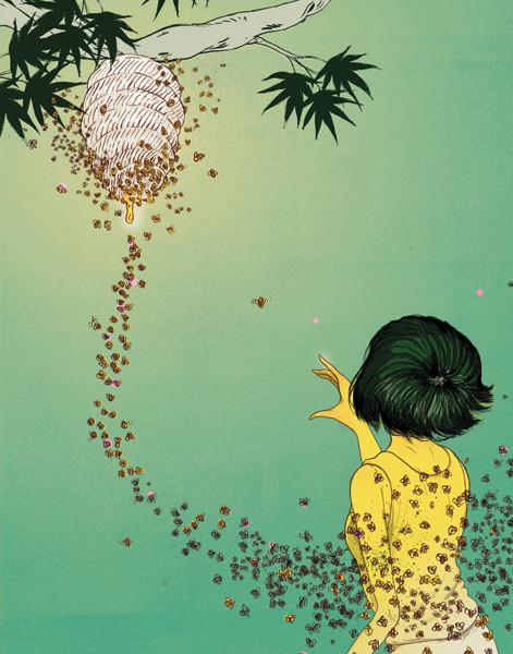 Рисунки американского иллюстратора Марко Шина.. Изображение № 34.