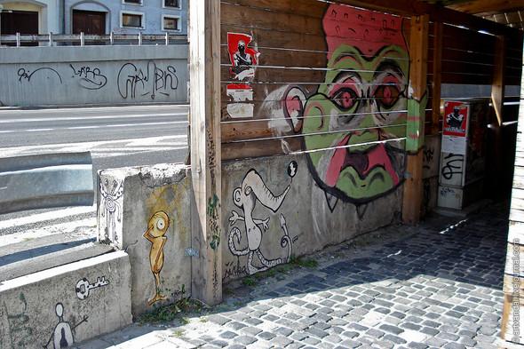 Стрит-арт и граффити Братиславы, Словакия. Изображение № 10.