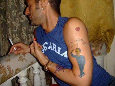 Marc Jacobs иего татуировки. Изображение № 10.
