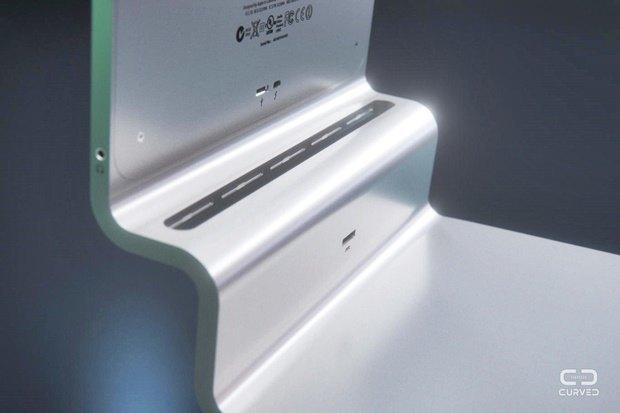 Концепт: современный iMac в стиле Macintosh 128K 1984 года. Изображение № 5.
