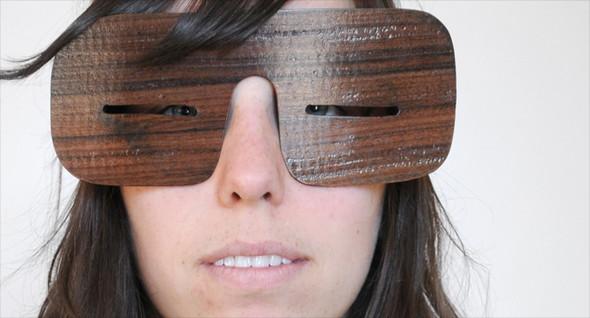 Узкоглазые деревянные очки. Изображение № 5.