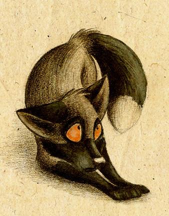 Забавные иллюстрации из жизни лисиц от Skia. Изображение № 14.