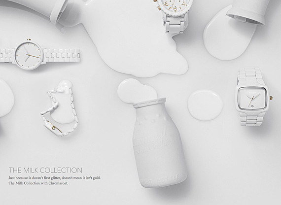 NIXON THE MILK COLLECTION ДЛЯ КОЛЛЕКЦИИ CHROMACOAT STORY. Изображение № 1.
