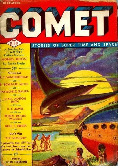 Космические обложки Pulp-журналов. Изображение № 12.