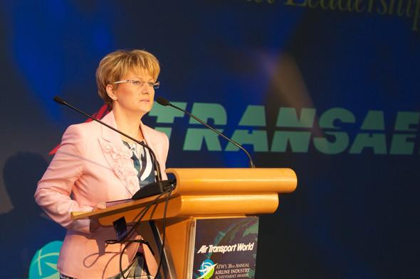 Авиакомпании «Трансаэро» вручена премия журнала Air Transport World. Изображение № 2.