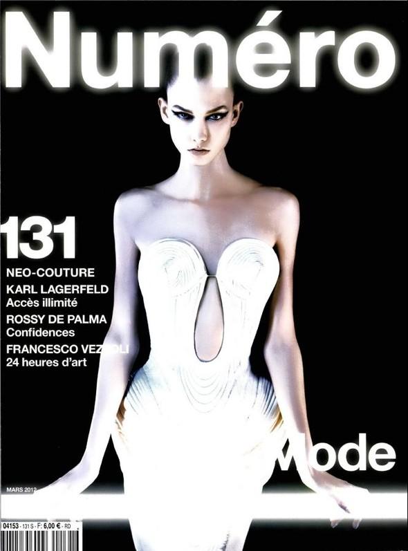 Обложки: Numero, Self Service и Vogue. Изображение № 1.