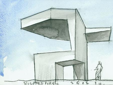 Архитектурные акварели стивена холла. Изображение № 8.