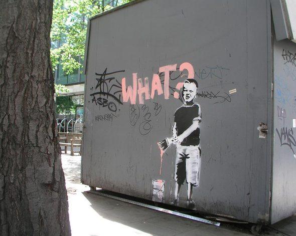 Изображение 52. Banksy (уличная мышь – герой).. Изображение № 52.