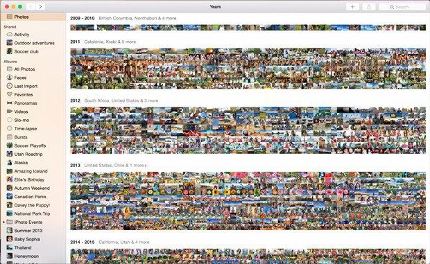 Появились первые скриншоты приложения-замены iPhoto для Maс. Изображение № 5.