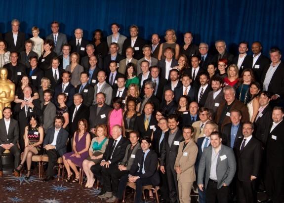 Все номинанты на «Оскар-2012» на одном фото. Изображение № 2.