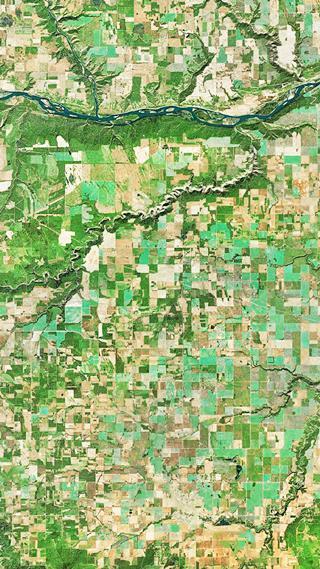 Сайт дня: обои для айфонов из спутниковых карт. Изображение № 20.