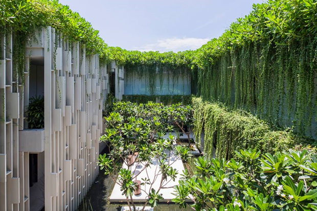Архитектура дня: белый спа-центр во Вьетнаме с растениями на фасаде. Изображение № 8.