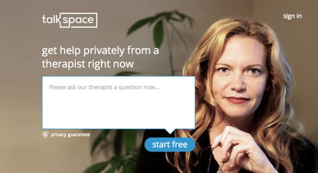 Стартап TalkSpace заменит поход к психотерапевту. Изображение № 1.