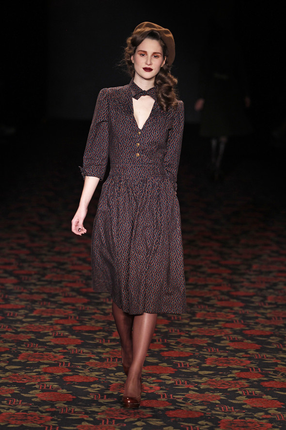 Berlin Fashion Week A/W 2012: Lena Hoschek. Изображение № 31.