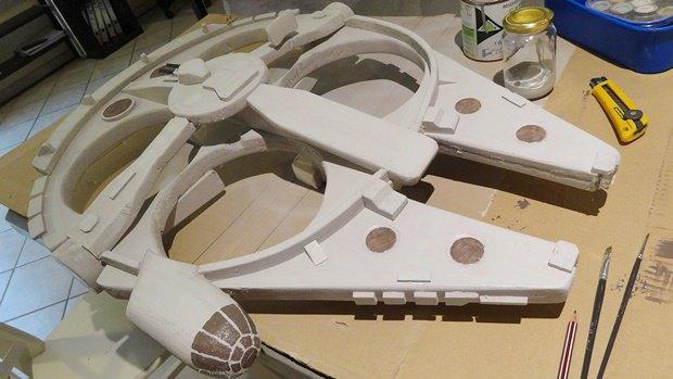 Энтузиаст построил дрон в виде «Тысячелетнего сокола». Изображение № 30.