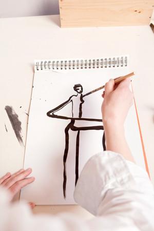 Картинки француской художницы дляVeuve Clicquot. Изображение № 8.