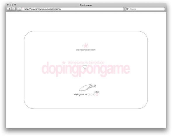 Изображение 1. Dopingame — игра не о наркотиках.. Изображение № 6.