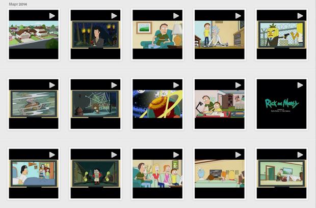 Adult Swim показал эпизод «Рика и Морти» в Instagram. Изображение № 1.