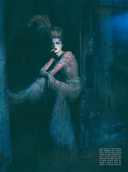 Архивная съёмка: Кристен МакМенами для Vogue Italia, сентябрь 2010. Изображение № 16.