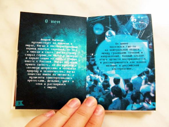 Самодельная книжка о творчестве Дельфина. Изображение № 7.