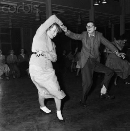 Танцующие свинг, фотография 1950-ых годов. Изображение № 2.