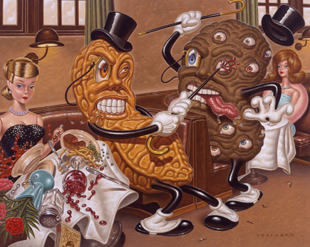Эйсид-поп сюрреализм Тодда Шорра. Изображение № 9.