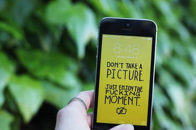 Концепт: как отучиться постоянно смотреть в смартфон . Изображение № 1.