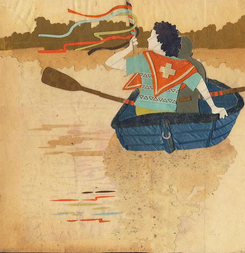 Клей, ножницы, бумага: 10 современных художников-коллажистов. Изображение № 49.