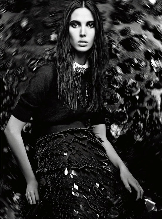 Съемка: Аризона Мьюз и Руби Олдридж для Vogue Италия. Изображение № 4.