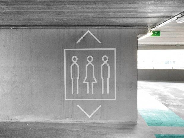 Архитектура дня: парковка сперфорацией вБельгии. Изображение № 8.
