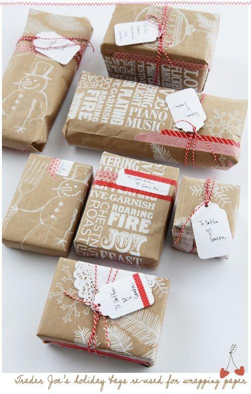 55 идей для упаковки новогодних подарков. Изображение №134.