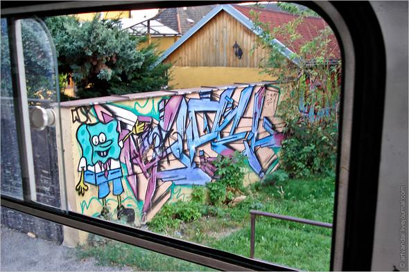 Стрит-арт и граффити Братиславы, Словакия. Изображение № 14.