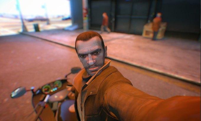 Мод позволяет делать селфи в GTA IV . Изображение № 4.