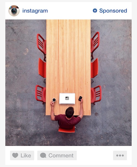 Instagram показал, как будет выглядеть реклама в соцсети. Изображение № 1.