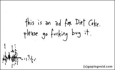 Gapingvoid. com: комиксы наобратной стороне визиток. Изображение № 6.