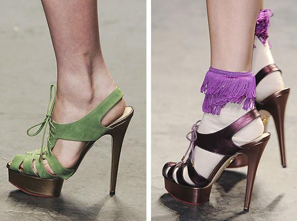 Walking in my shoes: 10 тенденций обуви весны-лета 2011. Изображение № 40.