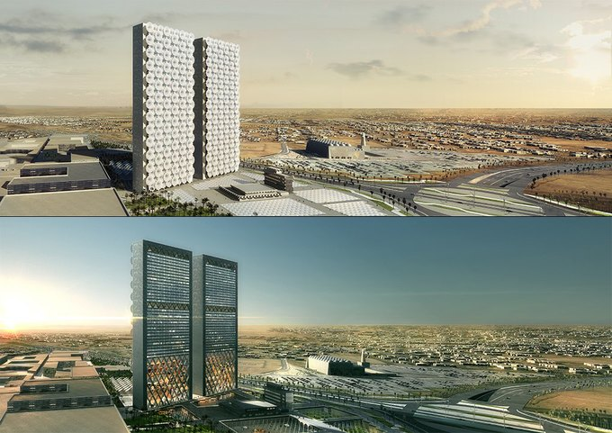 Бюро REX предложило концепцию небоскрёба с функцией зонта. Изображение № 1.