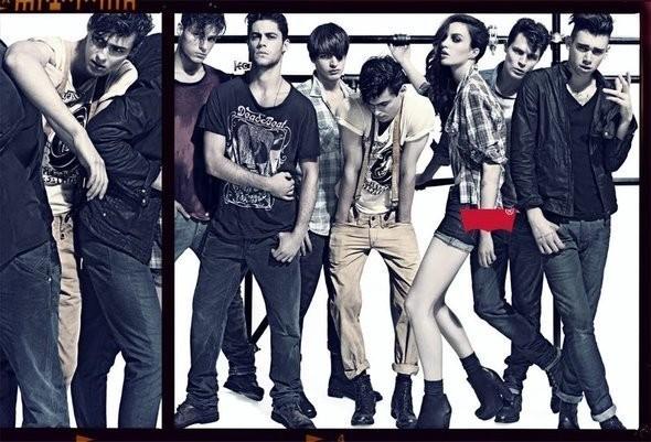 Изображение 14. Рекламные кампании: H&M, Levi's и другие.. Изображение № 13.