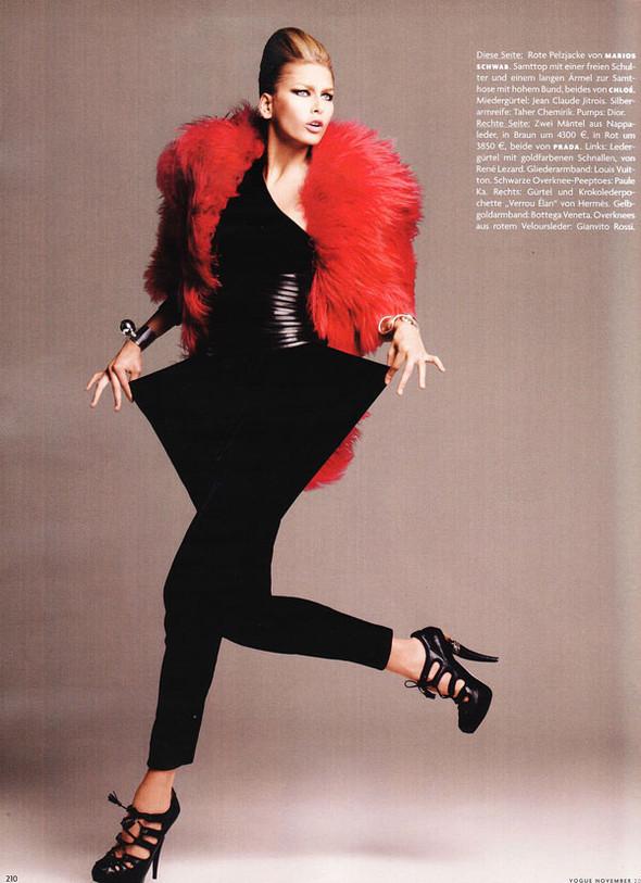 Moderne Magie Vogue German, November 2009. Изображение № 2.
