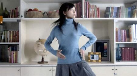 Uniqlock – часы, танцы, кашемир. Изображение № 1.