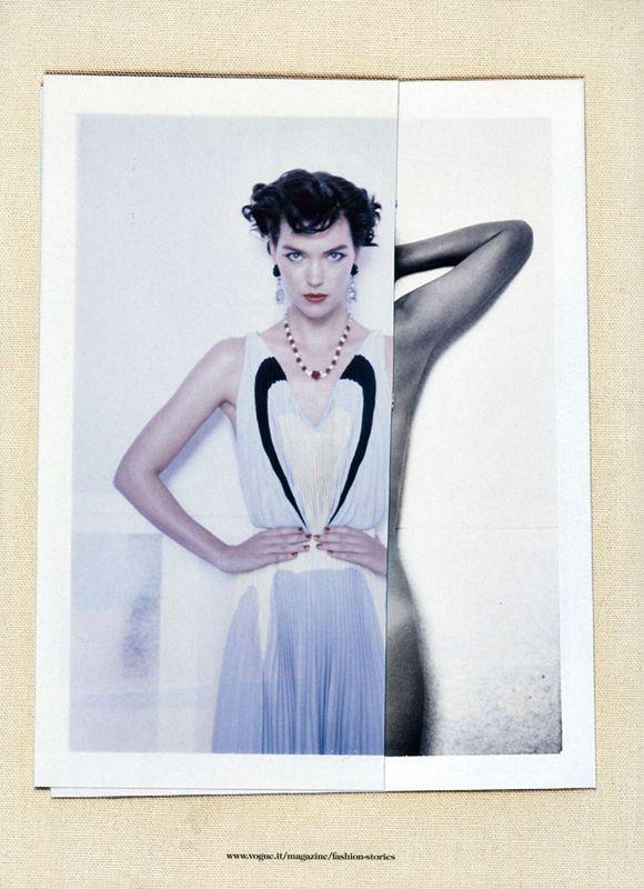 Съёмки: Стивен Майзел и Паоло Роверси для итальянского Vogue. Изображение № 19.