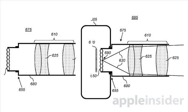 Apple запатентовала технологию плёноптической камеры. Изображение № 1.