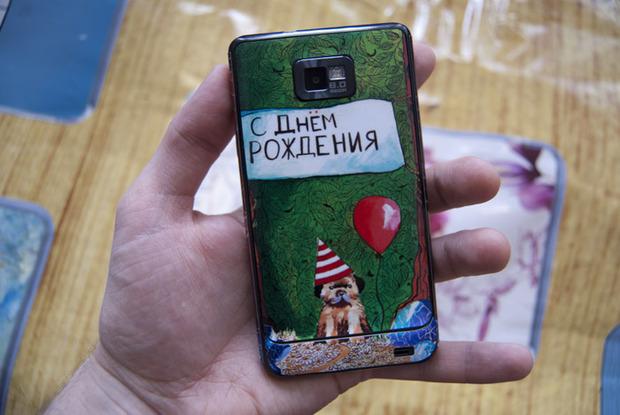 Хохлома для iPhone . Изображение № 7.