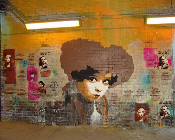 Стрит-арт в Лондоне. Изображение № 10.