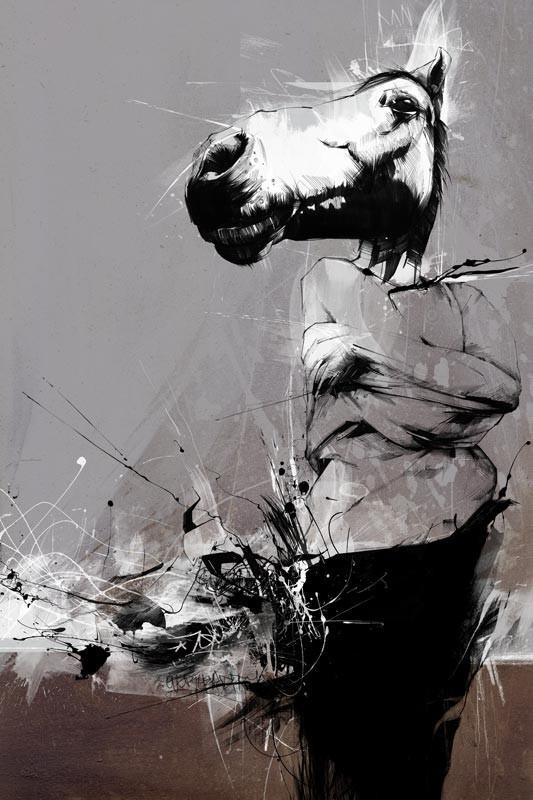 Russ Mills : графика, фотография и живопись. Изображение № 21.