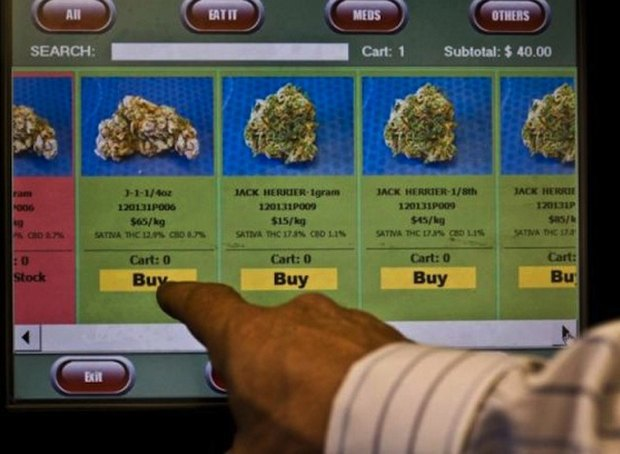 В Лос-Анджелесе устанавливают автоматы по продаже марихуаны. Изображение № 1.