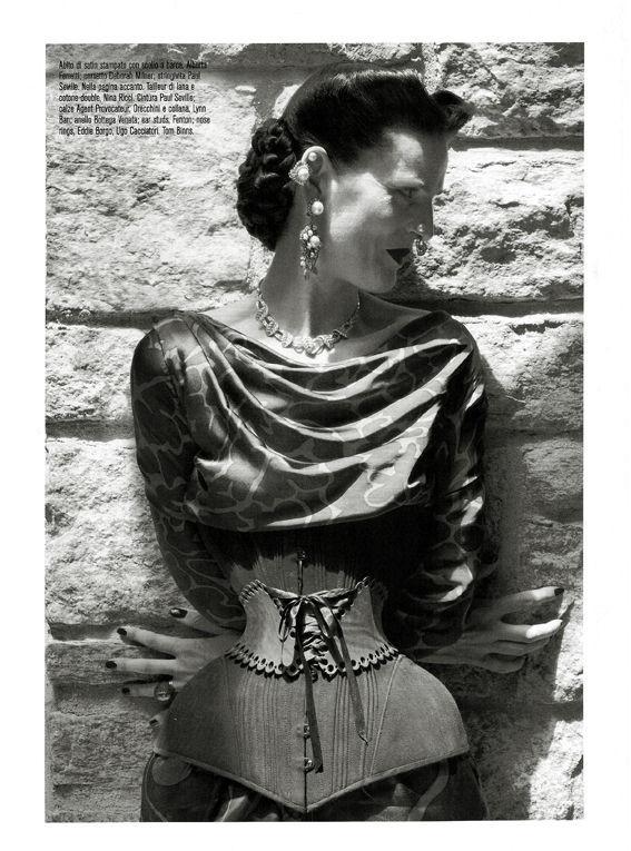 Съёмка: Стелла Теннант в объективе Стивена Майзела. Изображение № 3.