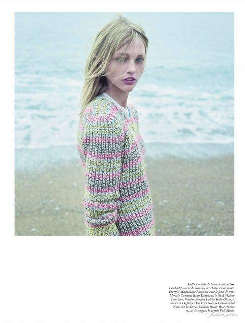 Съёмка: Саша Пивоварова и Наташа Поли для французского Vogue. Изображение № 7.
