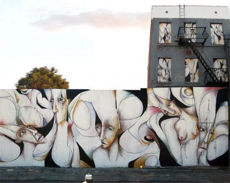 6 невероятных проектов уличных фресок. Изображение № 5.